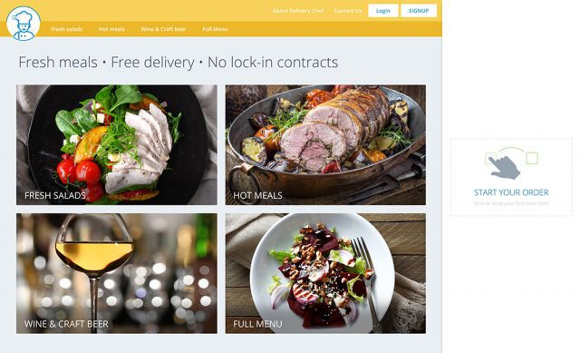 Delivery Chef - Ordering Web App